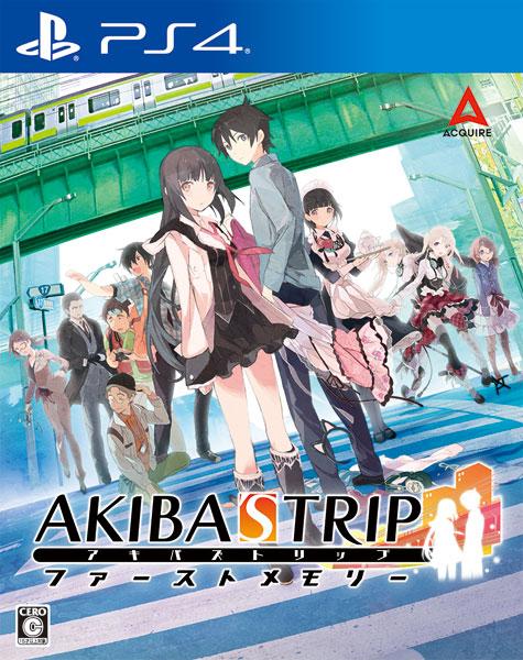 【特典】PS4 AKIBA'S TRIP ファーストメモリー 通常版[アクワイア]《発売済・在庫品》