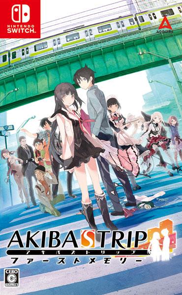 【特典】Nintendo Switch AKIBA'S TRIP ファーストメモリー 通常版[アクワイア]【送料無料】《発売済・在庫品》