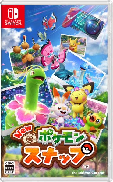 【特典】Nintendo Switch New ポケモンスナップ[ポケモン]【送料無料】《04月予約》