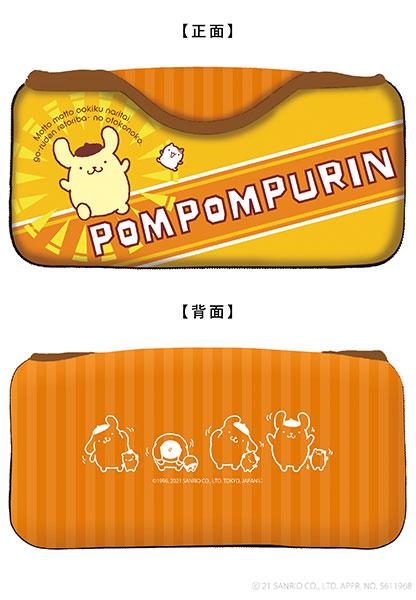 サンリオキャラクターズ クイックポーチfor Nintendo Switch ポムポムプリン[キーズファクトリー]《在庫切れ》