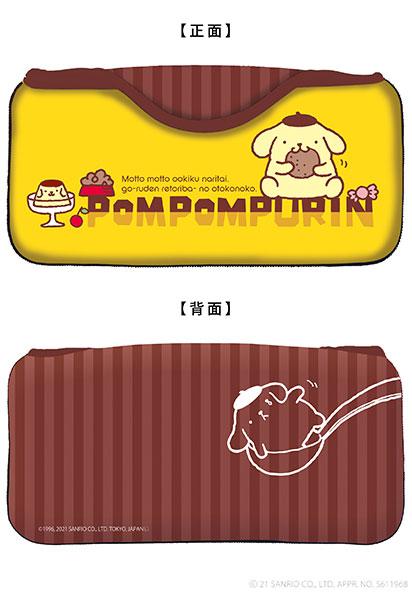サンリオキャラクターズ クイックポーチfor Nintendo Switch Lite ポムポムプリン[キーズファクトリー]《在庫切れ》