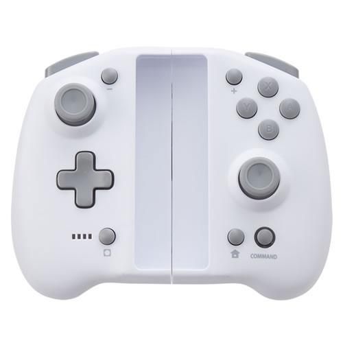 ダブルスタイルコントローラー ホワイト(Switch用)[サイバーガジェット]【送料無料】《05月予約》