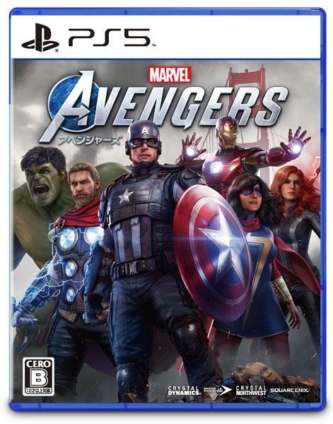 PS5 Marvel's Avengers (アベンジャーズ)[スクウェア・エニックス]《03月予約》
