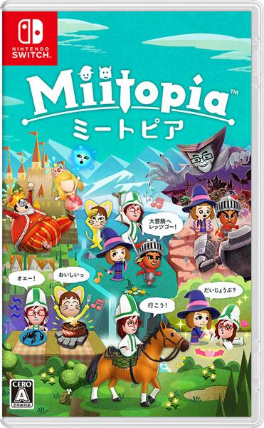 Nintendo Switch Miitopia[任天堂]【送料無料】《05月予約》