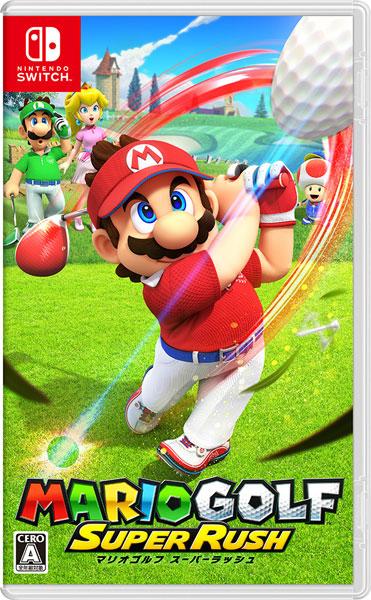 Nintendo Switch マリオゴルフ スーパーラッシュ[任天堂]【送料無料】《06月予約》