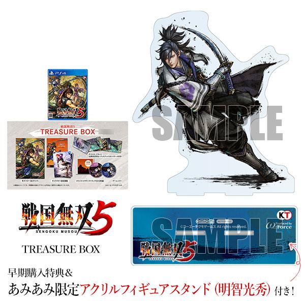 【あみあみ限定特典】【特典】PS4 戦国無双5 TREASURE BOX[コーエーテクモゲームス]《06月予約》