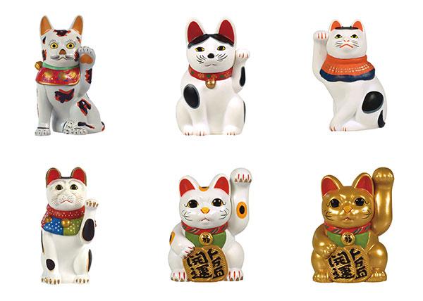 招き猫ミュージアム公式 招き猫ミニチュアコレクション BOX版 12個入りBOX[ケンエレファント]《在庫切れ》