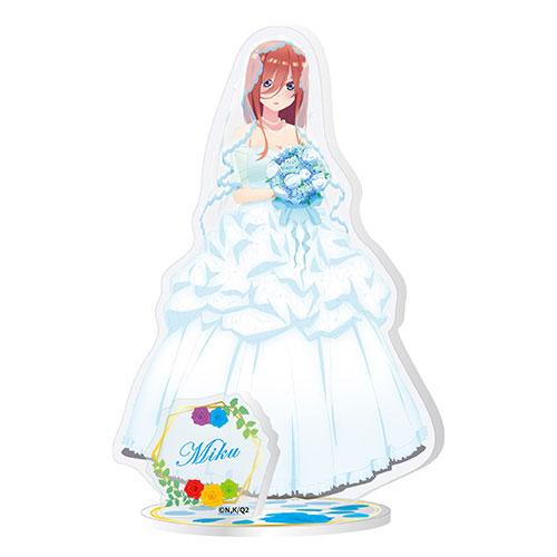 五等分の花嫁∬ アクリルスタンド (3)中野三玖[エンスカイ]《03月予約》