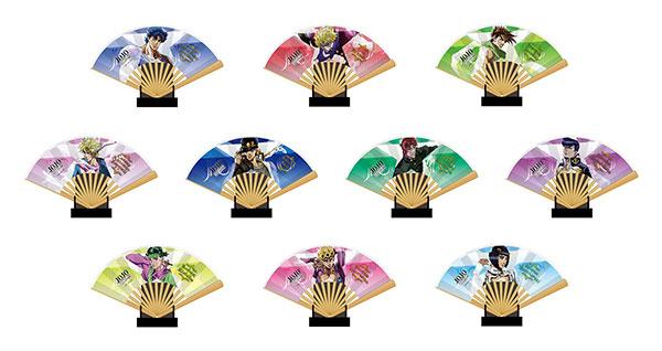 ジョジョの奇妙な冒険 THE ANIMATION ミニ扇子コレクション 10個入りBOX[エンスカイ]《在庫切れ》