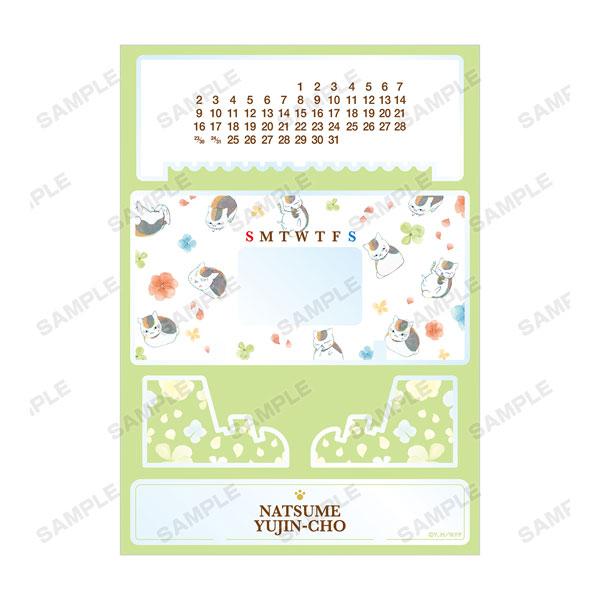 夏目友人帳 ニャンコ先生 Ani-Art 第3弾 卓上アクリル万年カレンダー[アルマビアンカ]《05月予約》