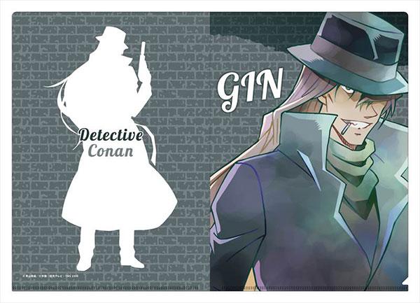 名探偵コナン クリアファイル PALE TONE series ジン[コンテンツシード]《在庫切れ》