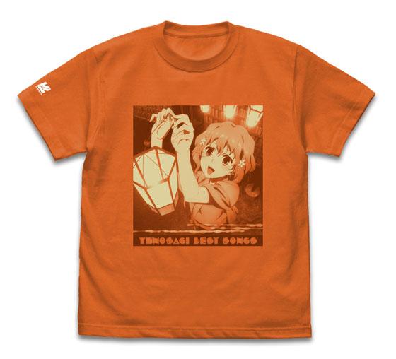 花咲くいろは 湯乃鷺ベストソングス CD Tシャツ(M)[バンダイナムコアーツ]《在庫切れ》
