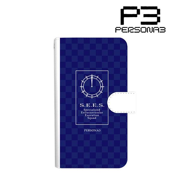 ペルソナ3 S.E.E.S. 手帳型スマホケース(対象機種/Lサイズ)[アルマビアンカ]《在庫切れ》