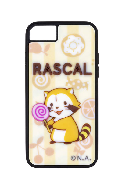 あらいぐまラスカル「ラスカル」Cver.(キャンディ) 半立体スマホケース 対応機種iPhone12/12pro[B´full FOTS JAPAN]《在庫切れ》