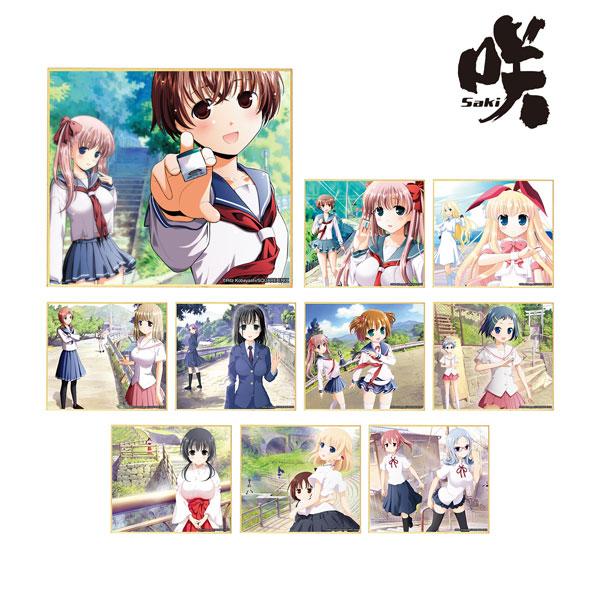 咲-Saki- トレーディングミニ色紙 ver.A 10個入りBOX[アルマビアンカ]《06月予約》