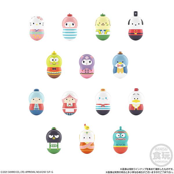 クーナッツ サンリオキャラクターズ なかよしワールド 14個入りBOX (食玩)[バンダイ]《06月予約》