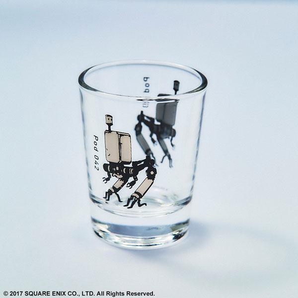 NieR:Automata ショットグラス[スクウェア・エニックス]《発売済・在庫品》