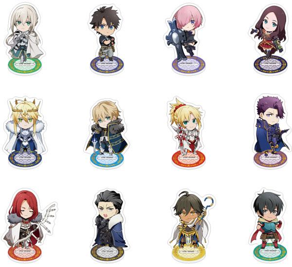 Fate/Grand Order -神聖円卓領域キャメロット- ツインフェイスコレクション アクリルスタンド 12個入りBOX[ハゴロモ]《発売済・在庫品》