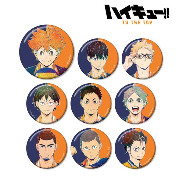 ハイキュー!! TO THE TOP トレーディング Ani-Art 第4弾 缶バッジ 9個入りBOX[アルマビアンカ]《06月予約》