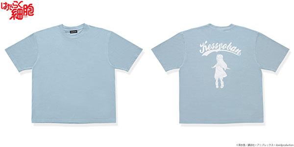 はたらく細胞 血小板デザイン ビッグTシャツ S[バンダイ]《在庫切れ》
