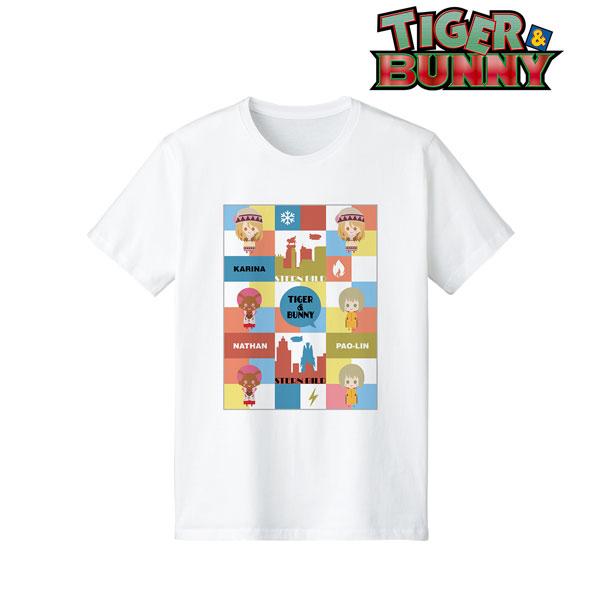 TIGER & BUNNY カリーナ&パオリン&ネイサン NordiQ Tシャツ レディース XL[アルマビアンカ]《在庫切れ》