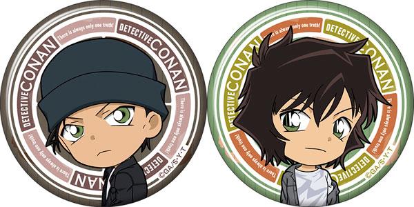 名探偵コナン 缶バッジセット 赤井&世良 ミニキャラ[ムービック]《在庫切れ》