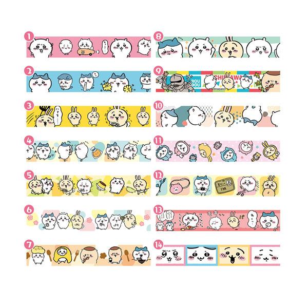 ちいかわ マスキングテープコレクション 14個入りBOX[エンスカイ]《05月予約》