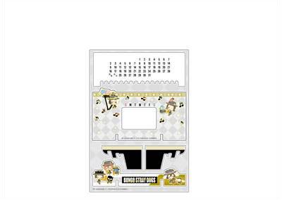 文豪ストレイドッグス×サンリオキャラクターズ アクリル万年カレンダー B オーケストラ ver.[コンテンツシード]《05月予約》
