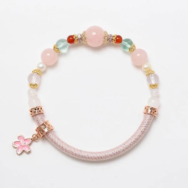 桜ミク ワインドコードブレスレット(再販)[めのや]《発売済・在庫品》