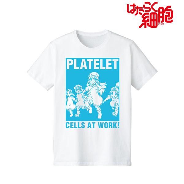 はたらく細胞 血小板 Tシャツ メンズ L[アルマビアンカ]《07月予約》