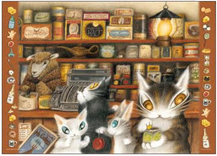 ジグソーパズル わちふぃーるど グロッサリー 500ピース (05-1046)[やのまん]《発売済・在庫品》