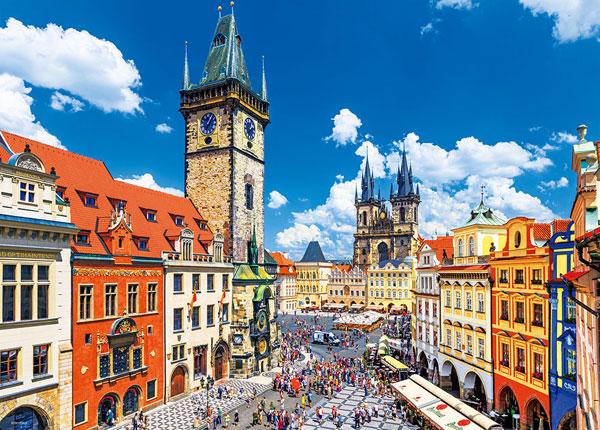 ジグソーパズル プラハ旧市街広場 600ピース(66-168)[ビバリー]《発売済・在庫品》