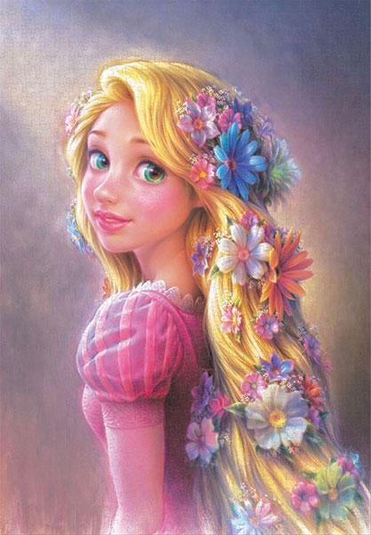 ジグソーパズル 輝く髪のプリンセス(ラプンツェル) 1000ピース(キャンバス) (D-1000-078)[テンヨー]《05月予約》