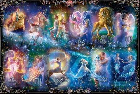 ジグソーパズル 貴希 星の神々 ~十二星座~ 1000マイクロピース (M81-616)[ビバリー]《在庫切れ》