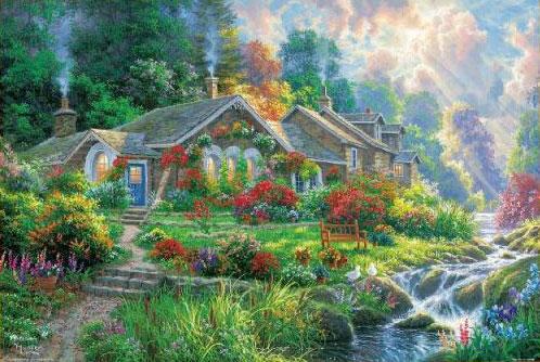 ジグソーパズル アート ホーム スイートホーム 1000ピース (31-520)[ビバリー]《発売済・在庫品》