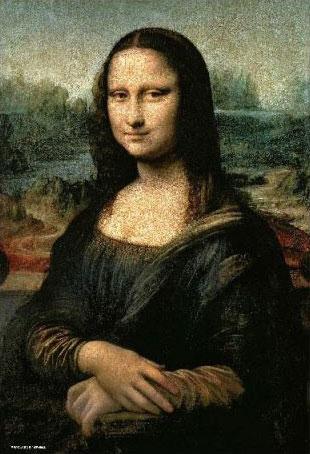 ジグソーパズル 名画 モナ・リザ 1000マイクロピース (M81-618)[ビバリー]《発売済・在庫品》