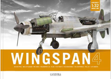 ウィングスパン Vol.4 1:32 飛行機模型傑作選 (書籍)[CANFORA]《在庫切れ》