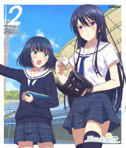 BD 八月のシンデレラナイン 第2巻 (Blu-ray Disc)[ビクターエンタテインメント]《在庫切れ》