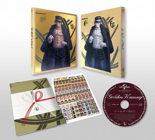 DVD ゴールデンカムイ 第七巻 初回限定版[NBC]《発売済・在庫品》
