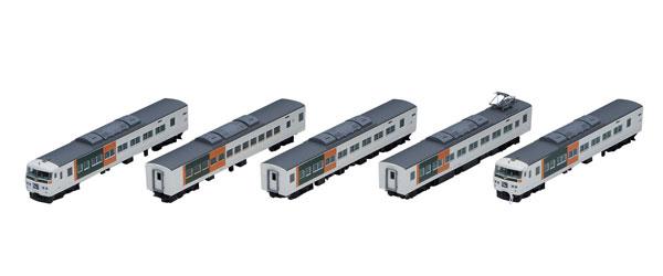98395 JR 185-0系特急電車(踊り子・新塗装・強化型スカート)基本セットA(5両)[TOMIX]【送料無料】《在庫切れ》