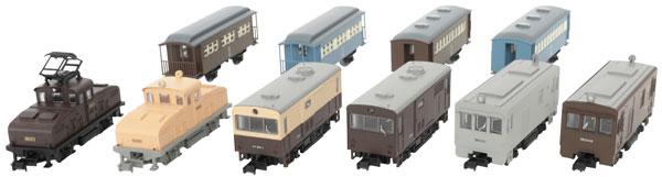 ノスタルジック鉄道コレクション 第1弾 10個入りBOX[トミーテック]《06月予約》