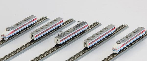 T031-1 489系特急形電車 初期型 「白山」 白山色 5両基本セット[ロクハン]【送料無料】《09月予約》