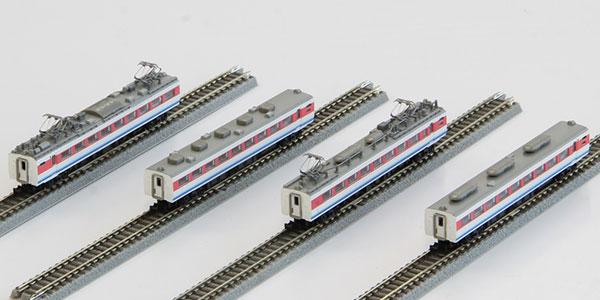 T031-2 489系特急形電車 初期型 「白山」 白山色 4両増結セット[ロクハン]【送料無料】《09月予約》