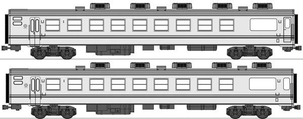 TW-YSC-B 国鉄「やすらぎ」 2両増結セット[トラムウェイ]【送料無料】《秋月予約》