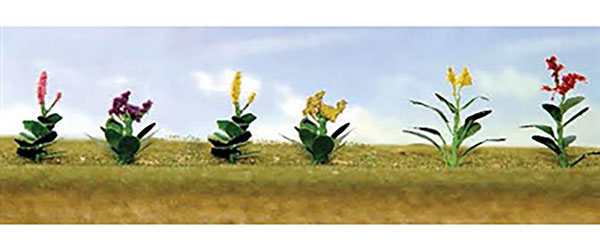 フラワー・アソートパック4 HOスケール (12株入り)[JTTミニチュアツリー]《在庫切れ》