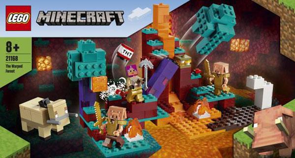 レゴ Minecraft ゆがんだ森 (21168)[レゴジャパン]《在庫切れ》