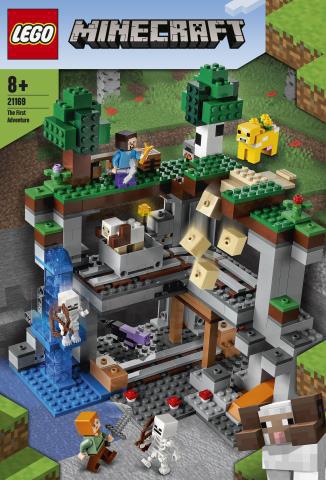 レゴ Minecraft 最初の冒険 (21169)[レゴジャパン]《発売済・在庫品》