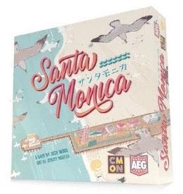 ボードゲーム サンタモニカ 日本語版[ケンビル]《発売済・在庫品》