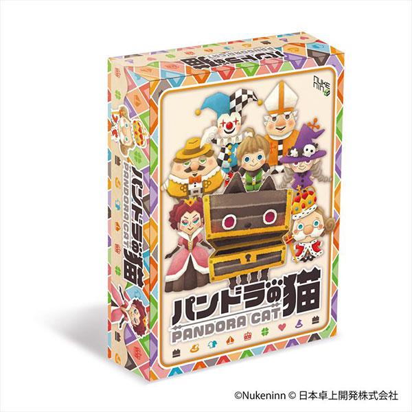 ボードゲーム パンドラの猫(リパッケージver.)[日本卓上開発]《発売済・在庫品》