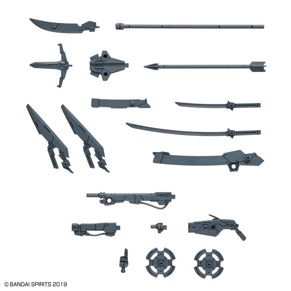 30MM カスタマイズウェポンズ (戦国兵装) プラモデル(再販)[BANDAI SPIRITS]《在庫切れ》